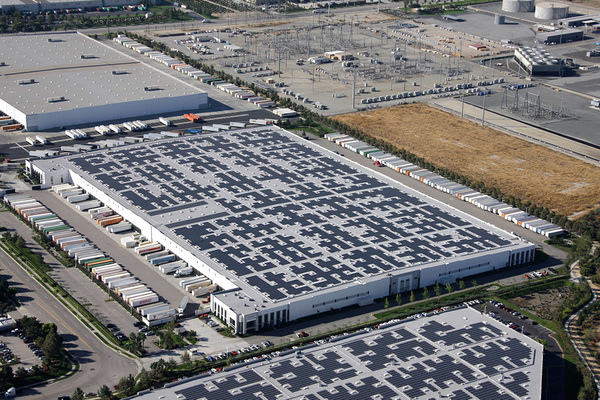 Commerical Rooftop Solar Installation
