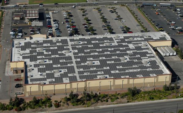 Walmark Rooftop Solar Array