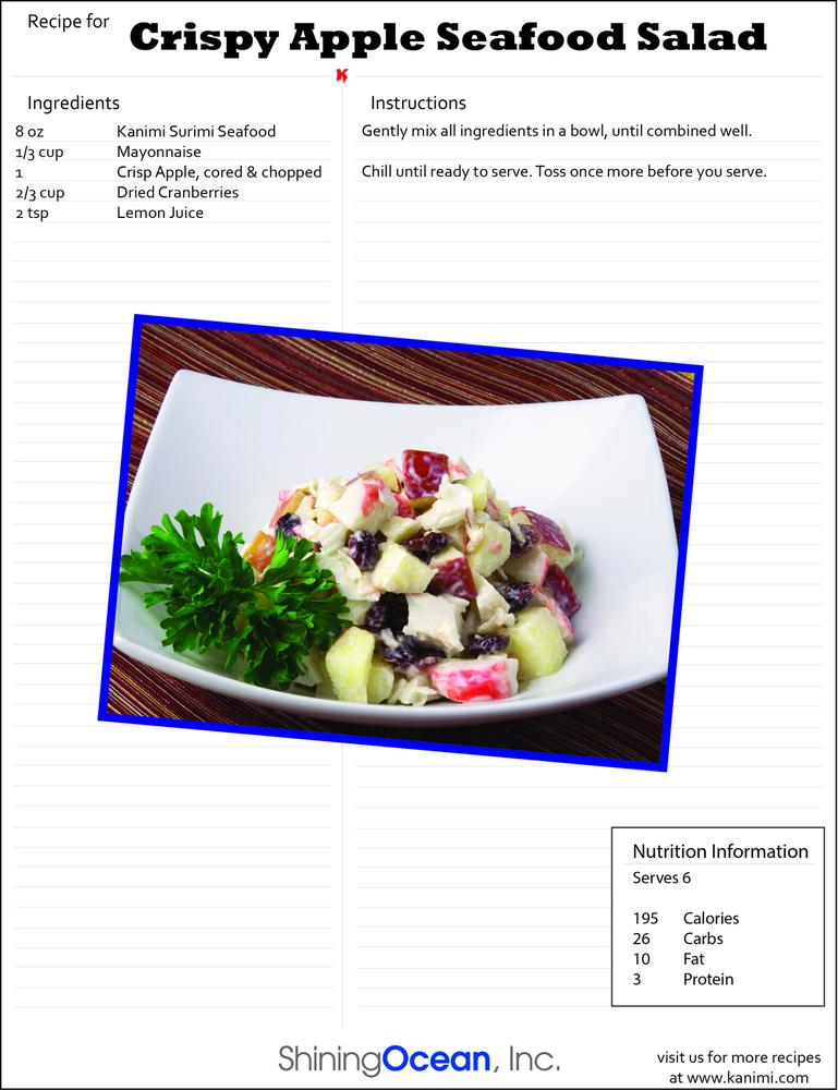 Recipes   Kanimi