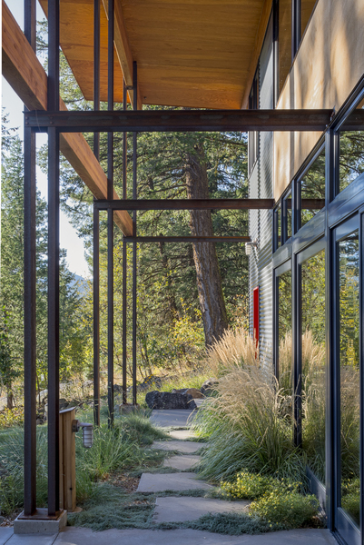 Mountain Cabin Design Methow Valley Wa Natural Modern