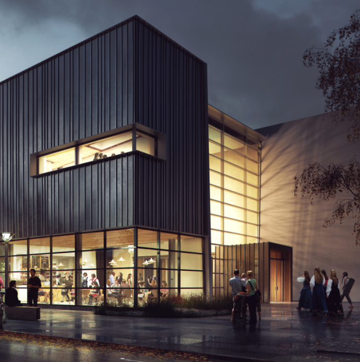 New Nordic Museum entryway: rendering
