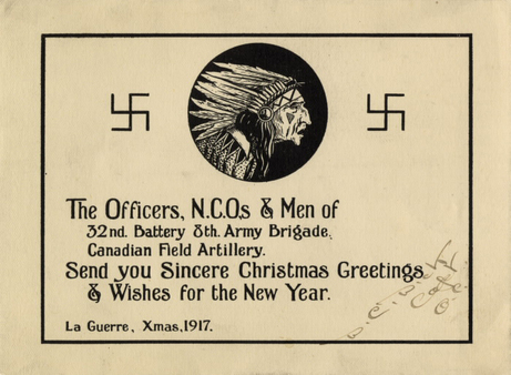 Christmas cards in wartime blog wartime wednesdays elinor florence although american christmas cards were most common there were cards manufactured for all nationalities this one shows the scottish lion and the timeless m4hsunfo