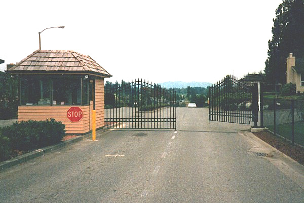 Industrial And Commercial Parking Commercial Gates