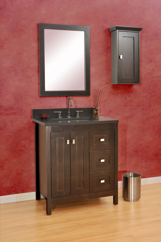 custom vanities and bathroom collection. Alki View bathroom vanity
