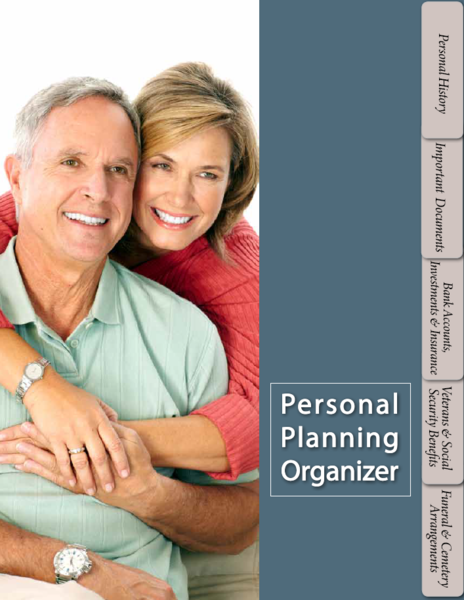 Personal Planning Organizer | Sunset Funeral Home