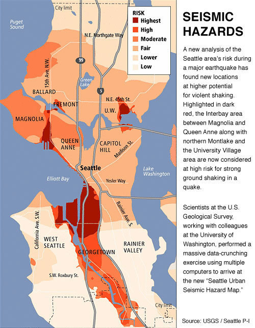 Earthquake Hazard Maps Sound Seismic