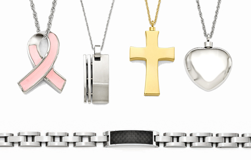 Cremation Jewelry Available through Sunset Funeral Home