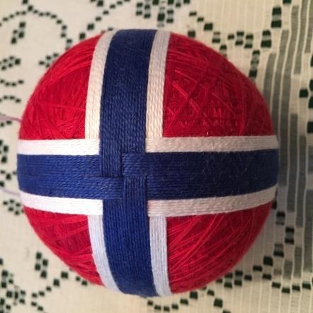 Temari Flag Ball