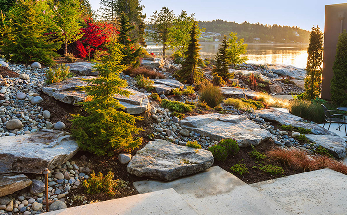landscape - Luxury Landscape Design Gig Harbor + Seattle David Hopkins Design