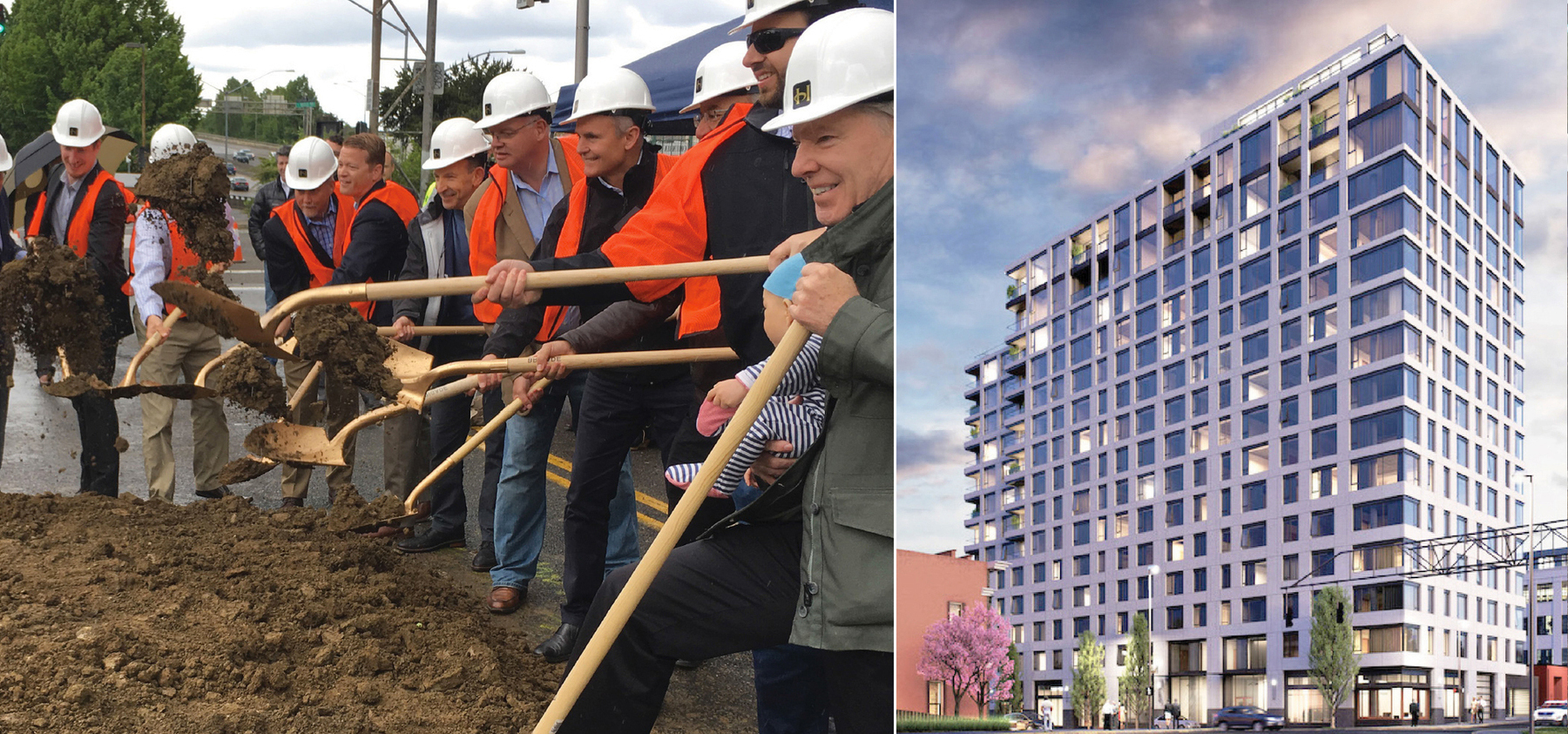 14th & Glisan Breaks Ground
