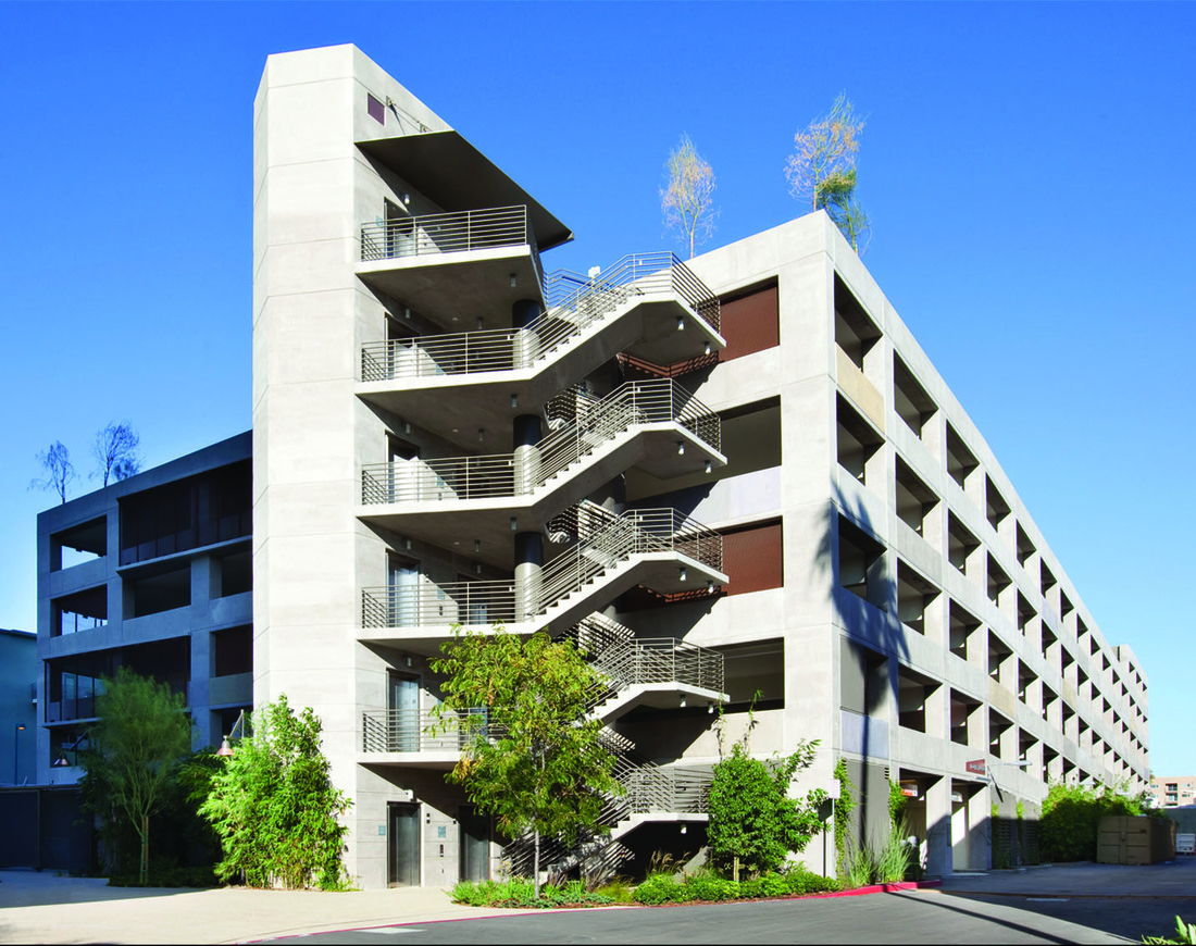 NoHo Parking Structure exterior