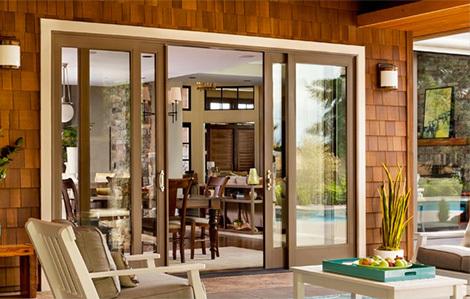 new sliding glass door installation by Procraft Windows in Seattle, WA