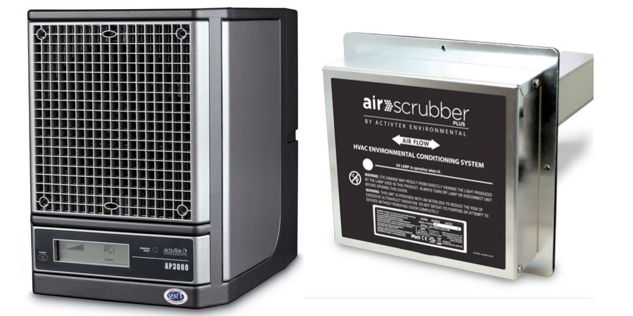 Air Scrubber Plus Portable and Ducted Models