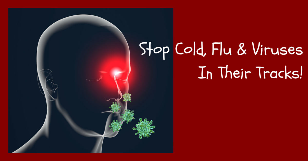 How to stop the cold, flu, and viruses in a Lyme disease treatment image from Marty Ross MD