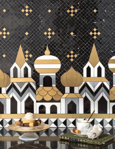Tzary Night mosaic