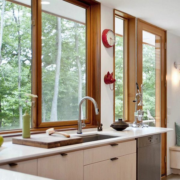 Wood and Wood Clad Replacement Windows by Procraft Seattle WA