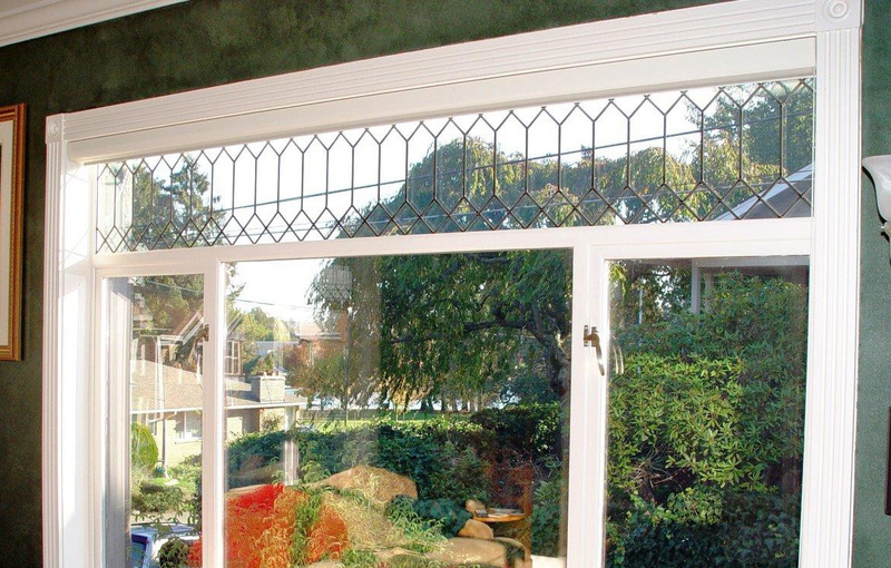 Leaded Glass Replacement windows by Procraft Seattle WA