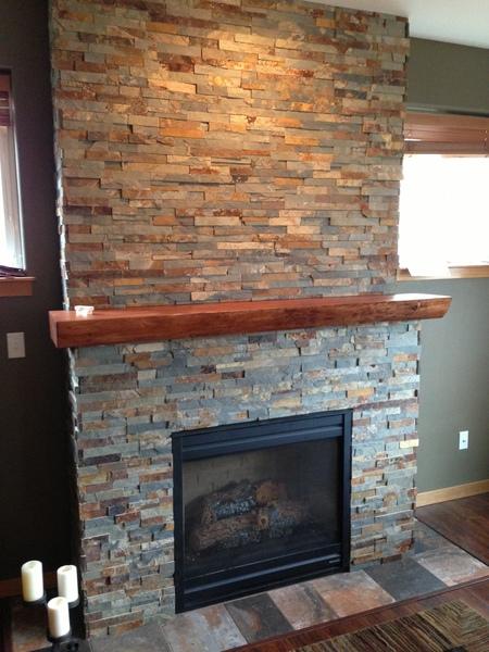 Fireplace renovation Bellingham
