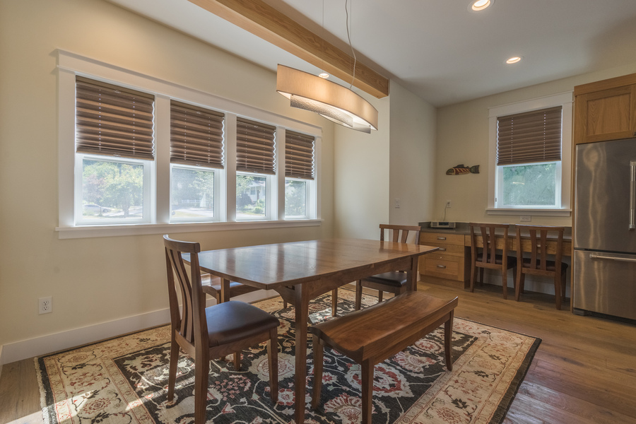 Dining room renovation and remodel Washington