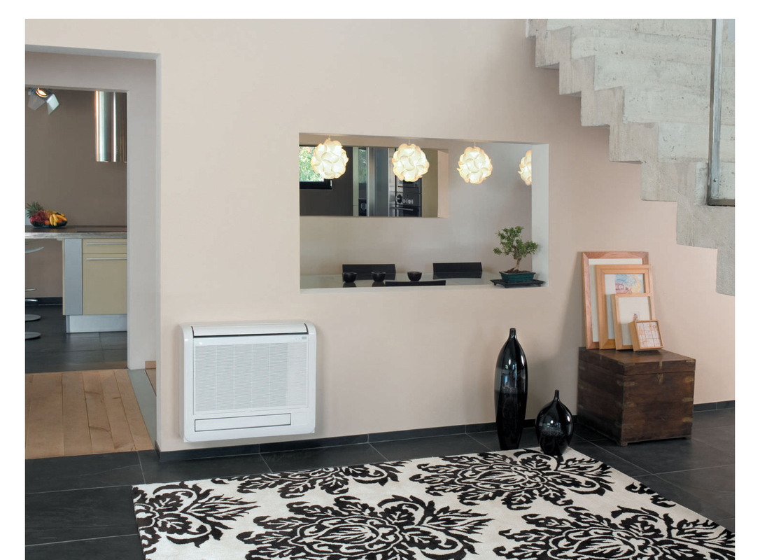 Mitsubishi Combines Ductless and Central For Affordable