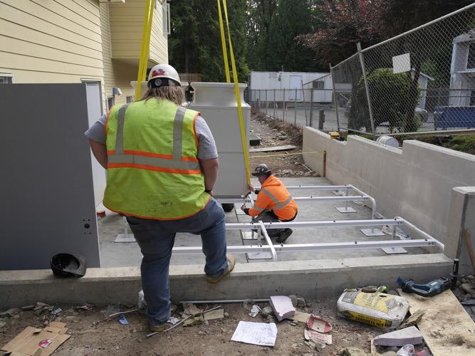 Evergreen commercial HVAC jobs