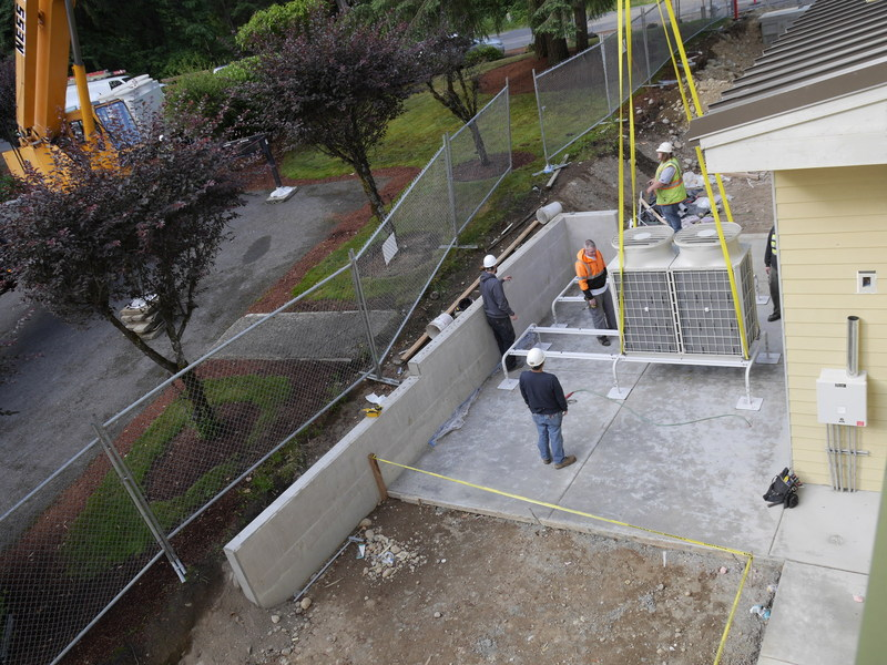 Evergreen commercial HVAC repair and installation puget sound