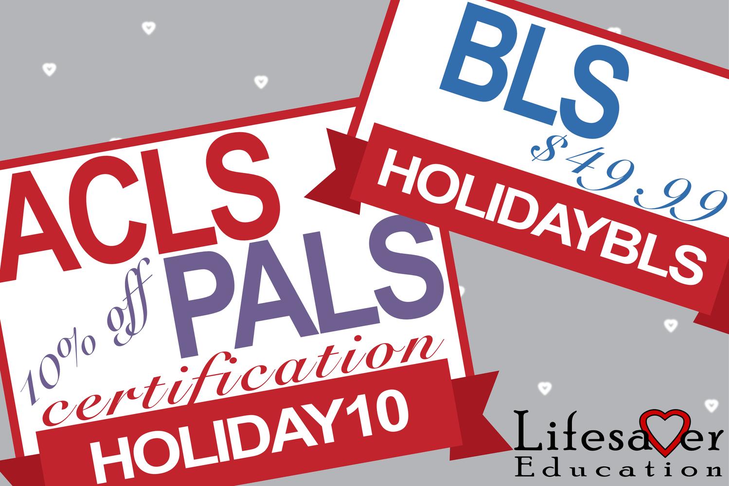 ACLS PALS BLS Promos 2018