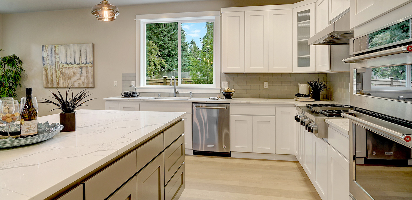 Custom kitchen cabinetry Everett, Washington