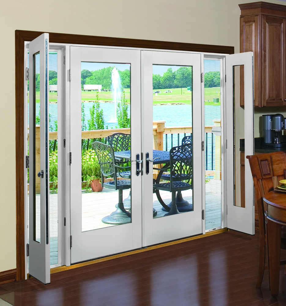 Clear Vented French Patio Doors by Procraft