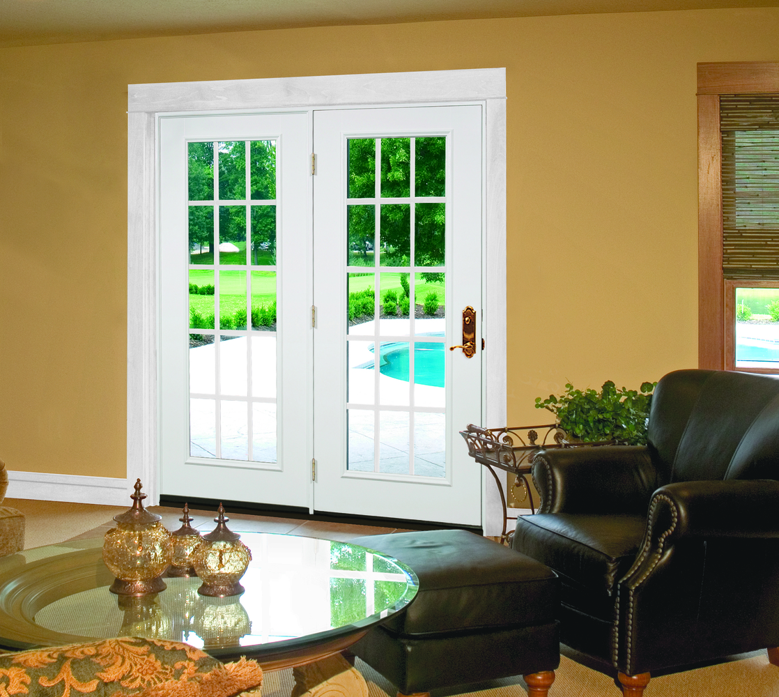 White Patio Doors by Procraft Windows