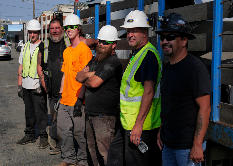 Evergreen commercial HVAC employees