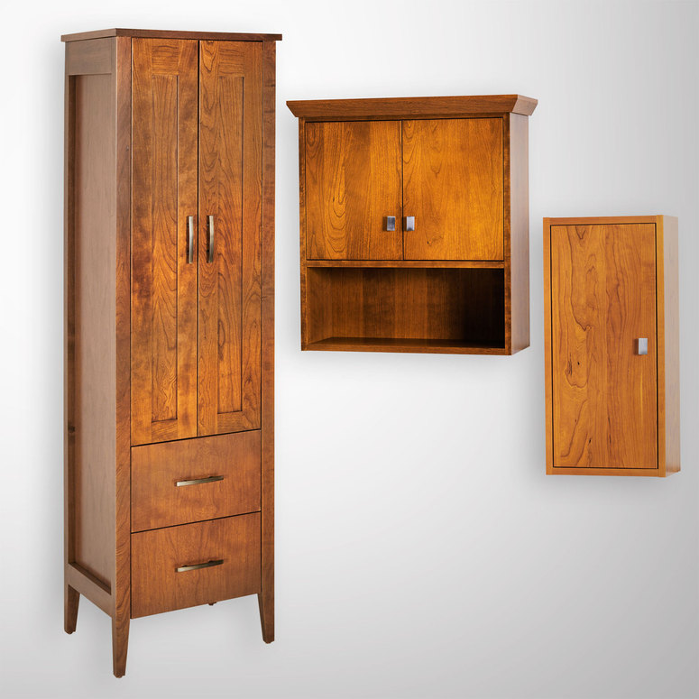 Bathroom Storage Cabinets   Mirrors With Storage, Vanities ...
