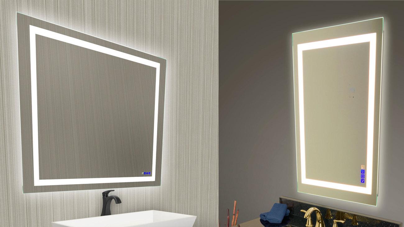 Wall Mirrors | Bathroom Mirrors With Storage | Vanity ...