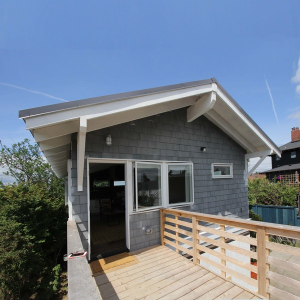 Garage backyard cottage