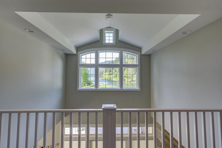 view of window from upper floor deck
