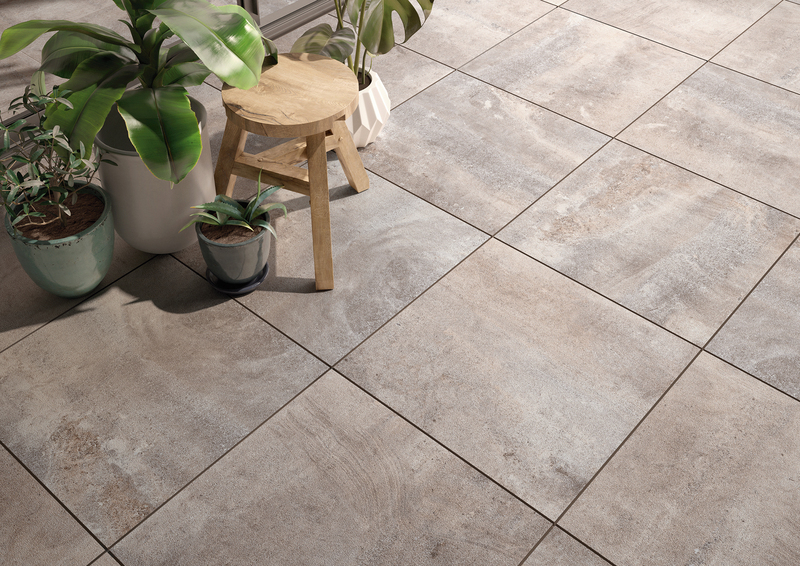 Earth look outdoor tile perfect for a patio in Seattle. Cadiz Outdoor collection by Villeroy & Boch.