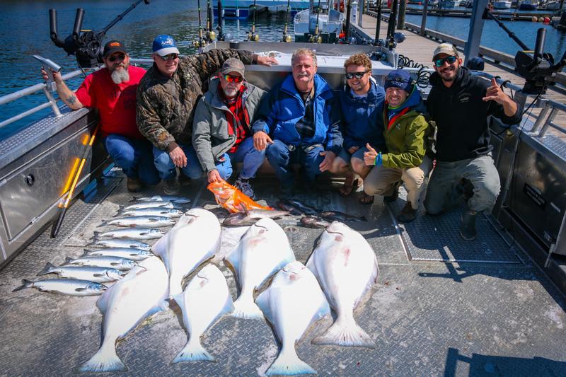 Halibut Fishing