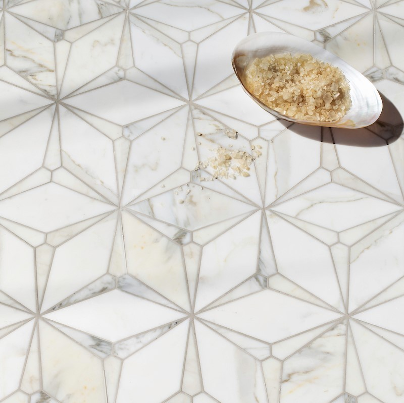 Customize this mosaic to your own liking. Stone mosaics made to order in the USA by New Ravenna mosaics.