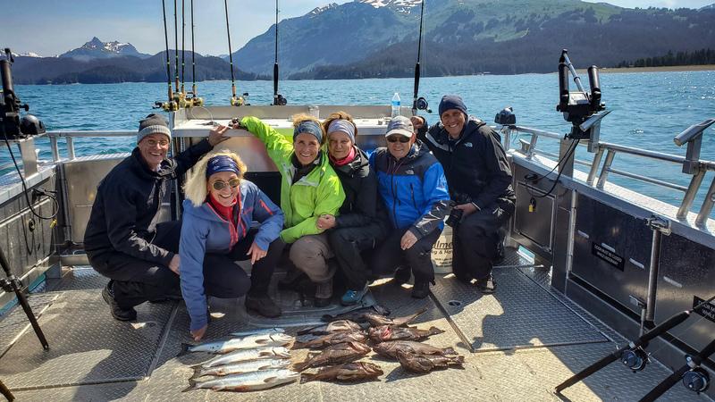 Rockfish and Salmon fishing Homer Alaska