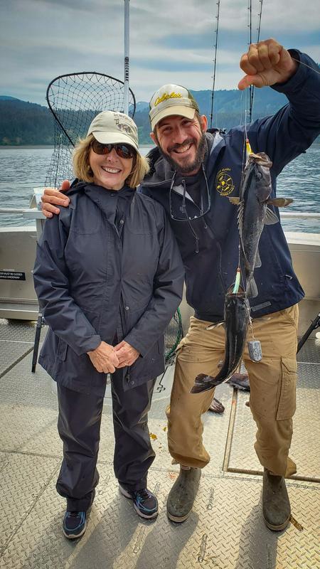 Rockfish fishing Homer Alaska