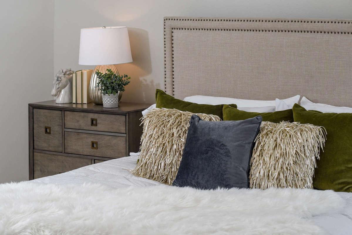 bedset in room