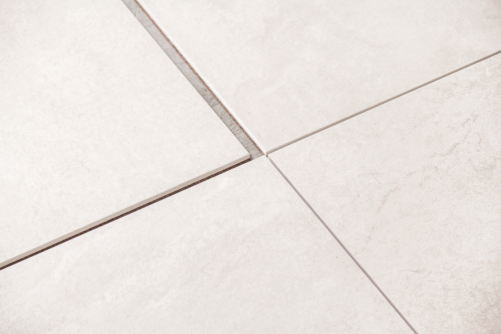 DryTile - install tile fast without mortar or adhesives. Cork backed tile