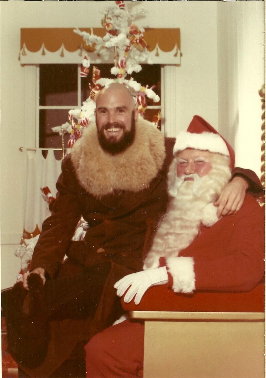 Jimmy Buss Santa pic