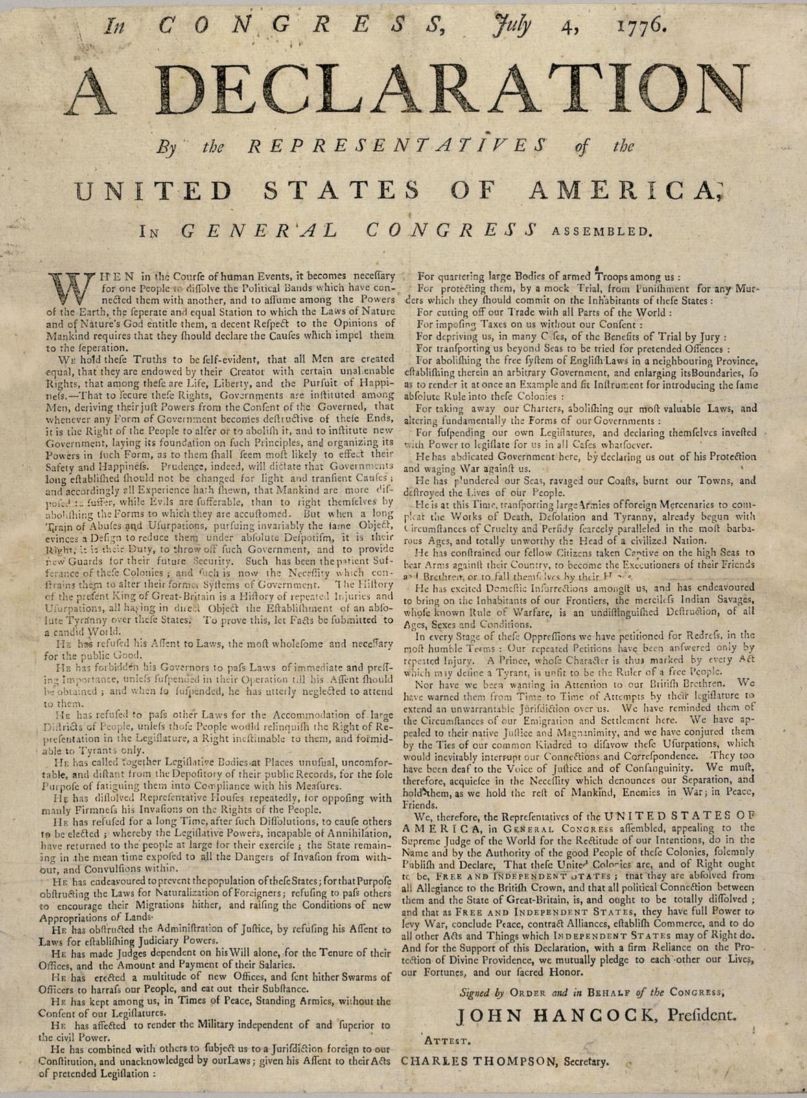 Declaration-of-Independence-broadside-1776-Jamestown-Yorktown-Foundation2