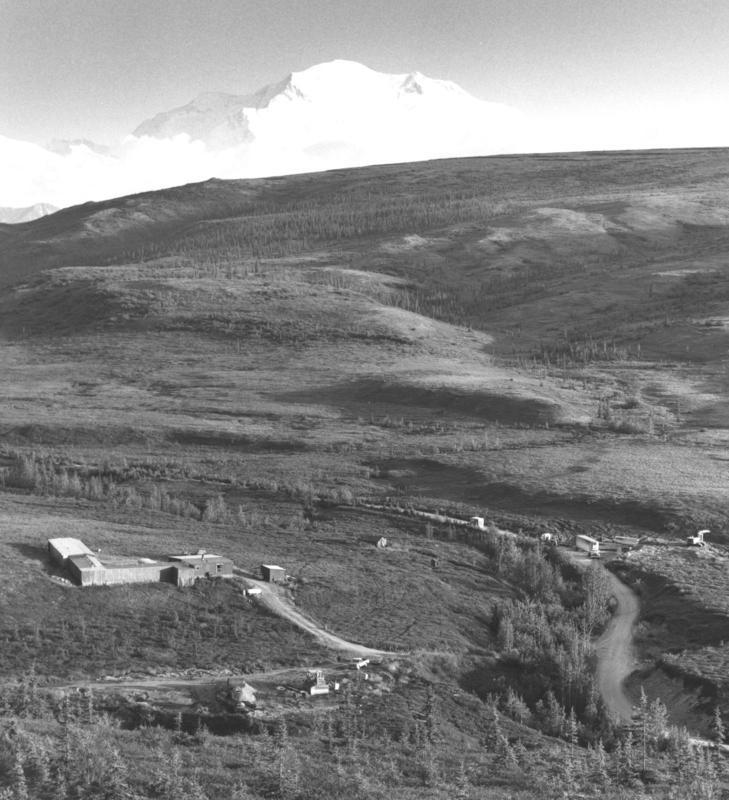 North Face Lodge, circa 1971