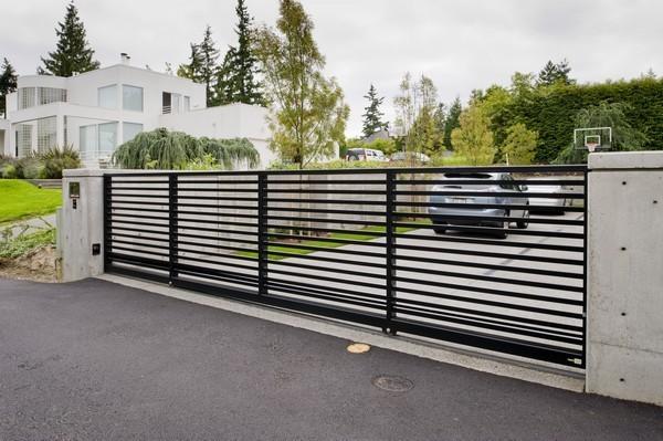 Modern Lines Commercial Gates Seattle Wa Seattle Gates