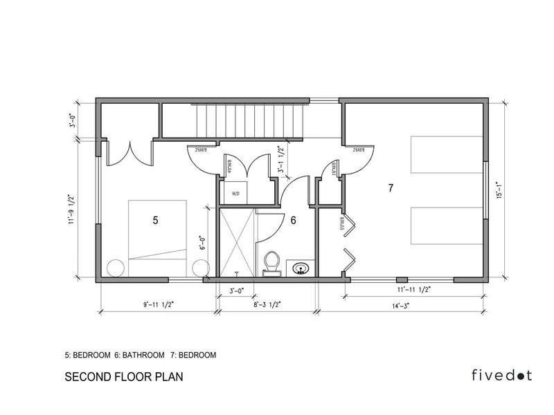 Pre Approved DADU seconf floor plan