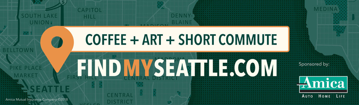 Digital Find My Seattle ad for Amica