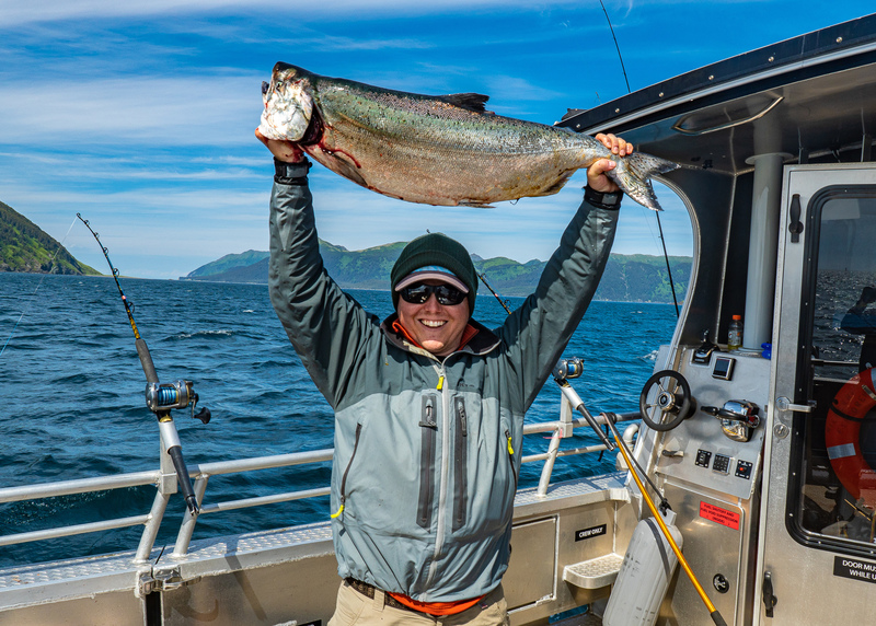 Winter King Salmon Fishing