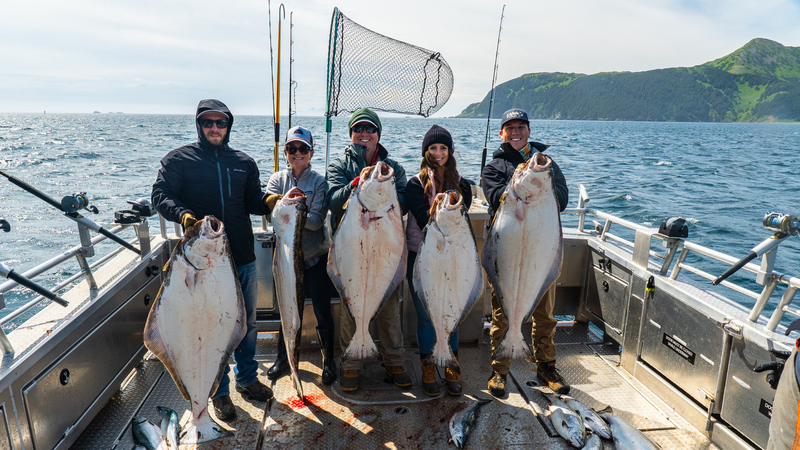 Halibut and Salmon Fishing